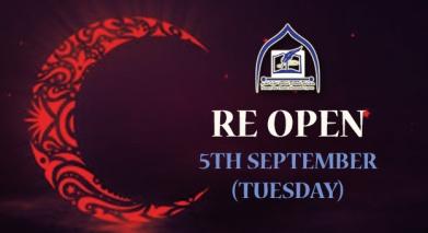Madrasa reopen